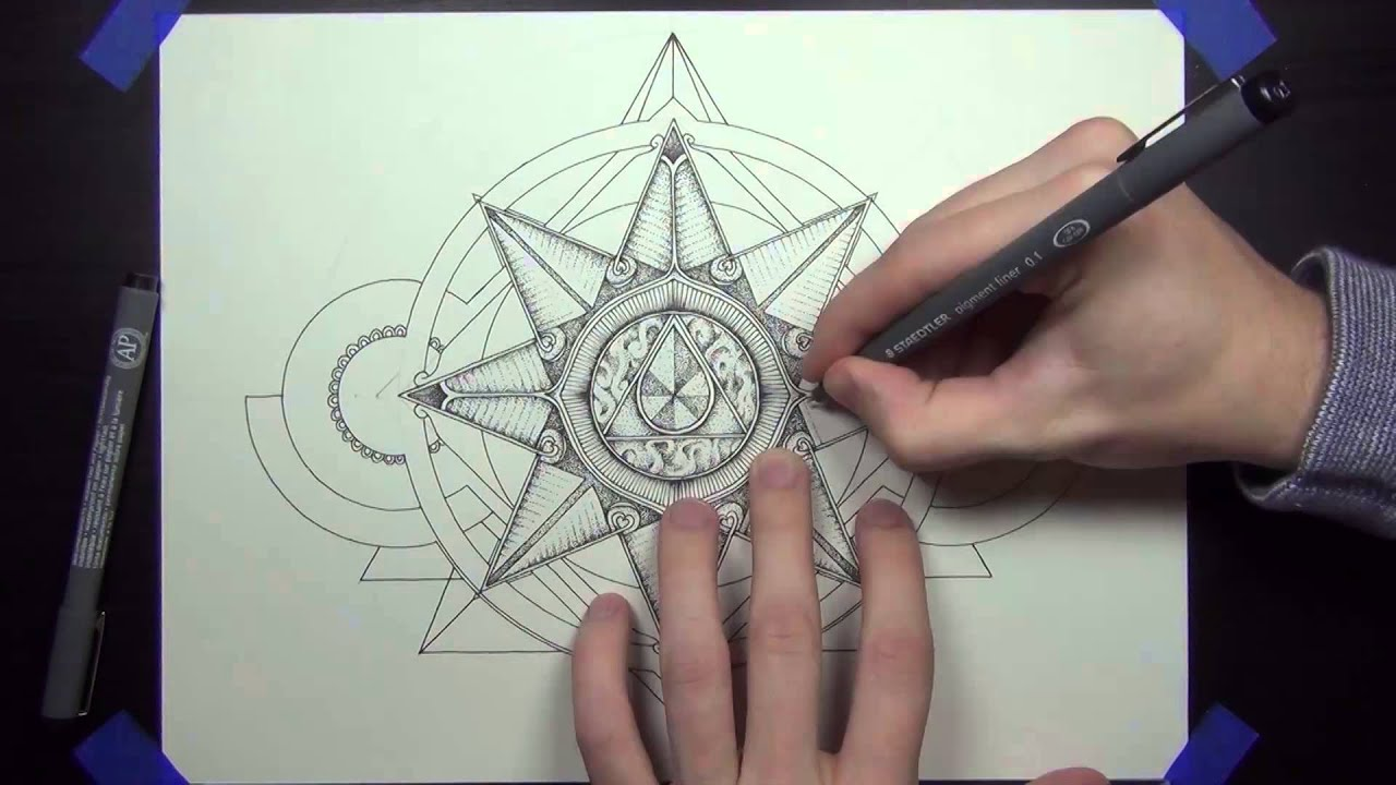 Drawing With Lines And Dots : Drawing dots in shapes and about sandwiches youtube