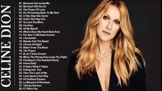 Because you love me| Best non-stop Songs of Celine Dion Greatest Hits Full Album 2018