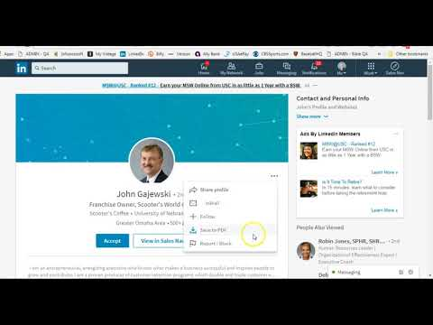 How to block or report someone on LinkedIn