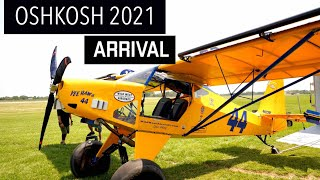 Oshkosh AirVenture 2021 Arrival, come see us!