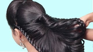 Quick Braided Hairstyles 2019 | Step By Step hairstyles For Beginners | hair style girl | Hairstyles
