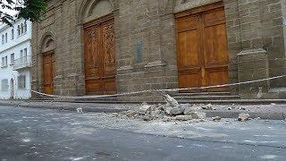 Severos daños en el centro histórico de La Serena tras sismo Video