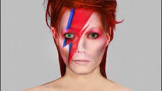 David Bowie Makeup Tutorial - Aladdin Sane/Ziggy Stardust | Joseph Harwood