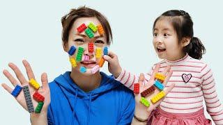 레고젤리는 너무 커요 서은이의 자이언트 레고 젤리 만들기 풍선 자판기 초콜릿집 만들기 Making Giant Lego Jelly | Seoeun Story