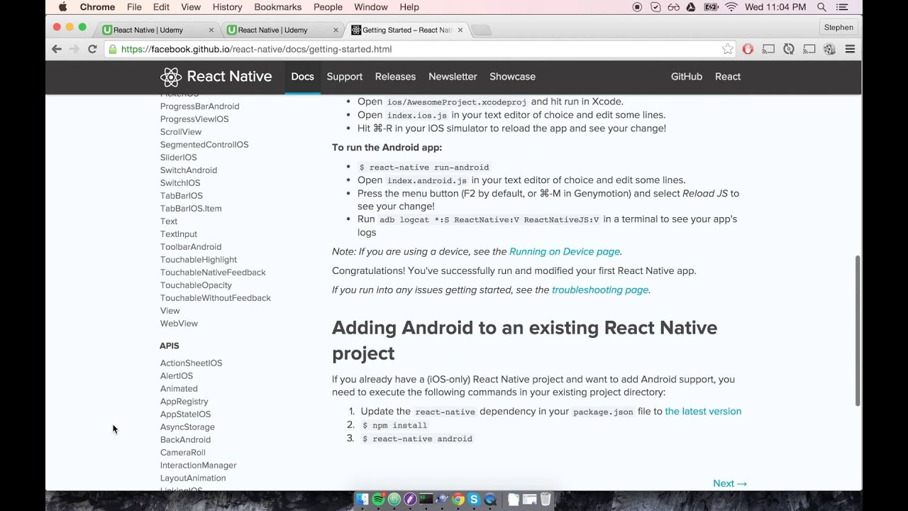 Build Apps with React Native: Introduction