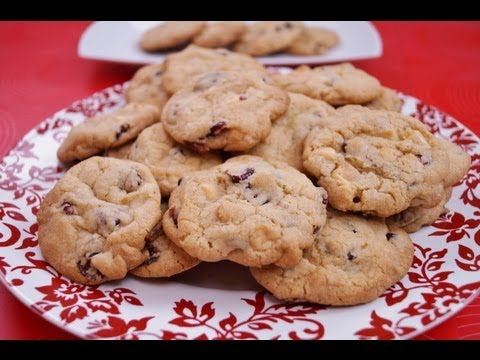 White Chocolate Cranberry Orange Cookies:Christmas Cookies:Diane Kometa-Dishin' With Di Recipe #32