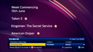 Sky Movies Box Office HD - Continuity 15-06-2015 [King Of TV Sat]