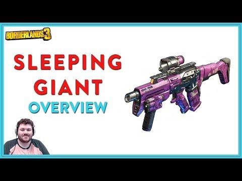 The Most SMG Feeling SMG | Borderlands 3 | Sleeping Giant Legendary SMG