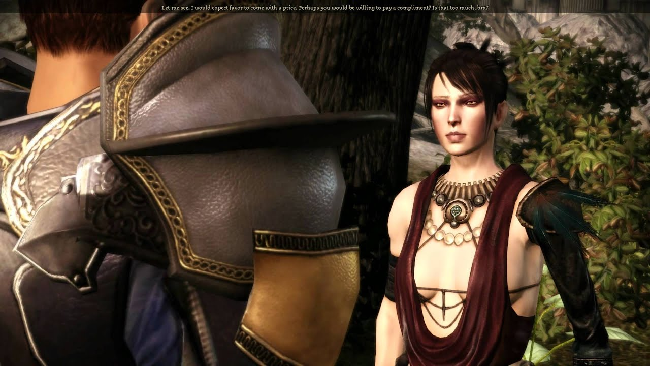 Dragon Age Origins Morrigan Romance Part 16 About Getting On Her