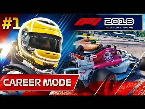 F1 2018 Career Mode Part 1: Australian Grand Prix
