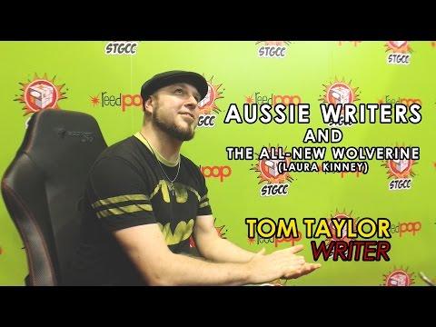 Tom Taylor - Aussie Writers and Wolverine | STGCC 2016 | Ohai News
