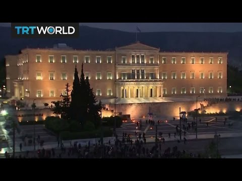 Greece Austerity: Protests erupt outside Greek parliament
