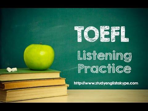 TOEFL listening test 1.1