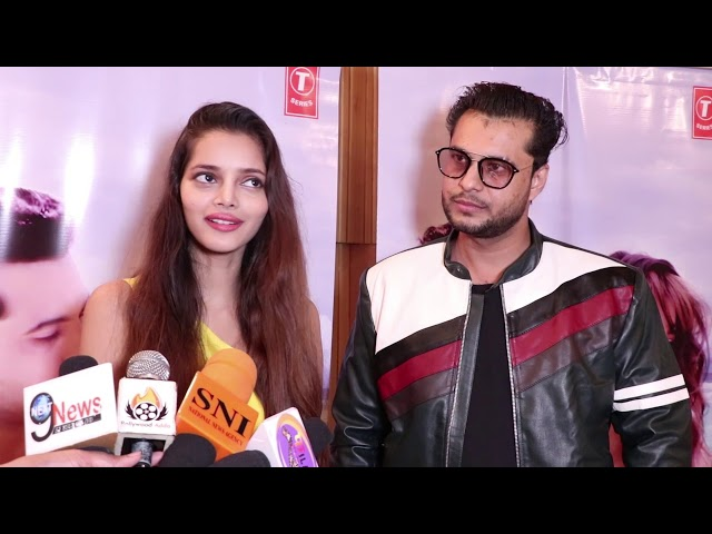 Aamir Shaikh New Music Video ''LA FANAA'' Launch At T-Series | Aavya Gupta