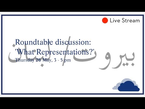 Roundtable discussion: 'What Representations?'