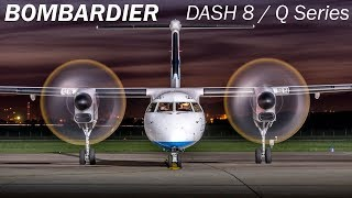 Bombardier Dash 8/Q Series - engines with sabres