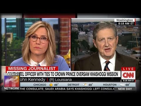 Senator Goes on CNN About Khashoggi Incident And Gives Quite The Response