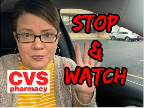 CVS STOP & WATCH VIDEO | MUST HOLD CRT'S | MAJOR REGISTER ISSUES TODAY 😱