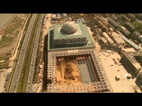China-built World's 3rd Largest Mosque to be Completed in Algeria