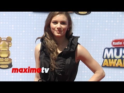 Carrie Wampler Radio Disney Music Awards 2014 Red Carpet RDMA