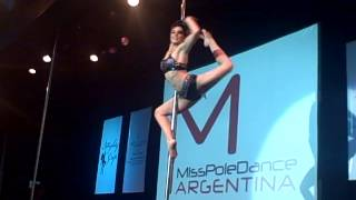 Pole Dance competition final - Miss Pole Dance Argentina & Sudamérica 2013 vid 3