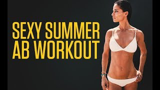 Sexy Summer Ab Workout (UPPER ABS, LOWER ABS & OBLIQUES!!)
