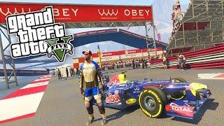 DIE SCHNELLSTEN AUTOS in GTA 5 ! - FORMEL1 & MEGA RAMPEN MOD !!!