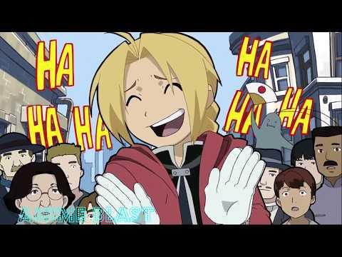Funny Moments Of Edward Elric I Anime Blast