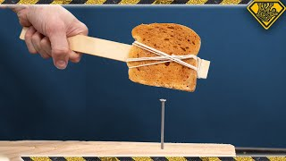 Can We Make Bread INDESTRUCTIBLE Using Resin?