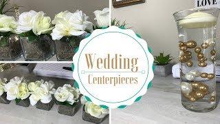DIY Wedding Centerpiece Tutorial
