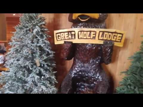 Great Wolf Lodge Garden Grove Walk Through