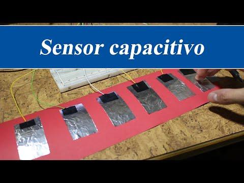 Sensor táctil capacitivo