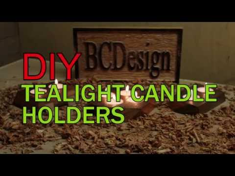 How to make : DIY Tealight Candle Holder