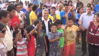 Alcalde de Hualmay Eddie Jara saluda a la población en estas fiestas de Navidad y de fin de año.