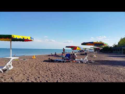 Капчагай. Пляж. Зона отдыха. 2017