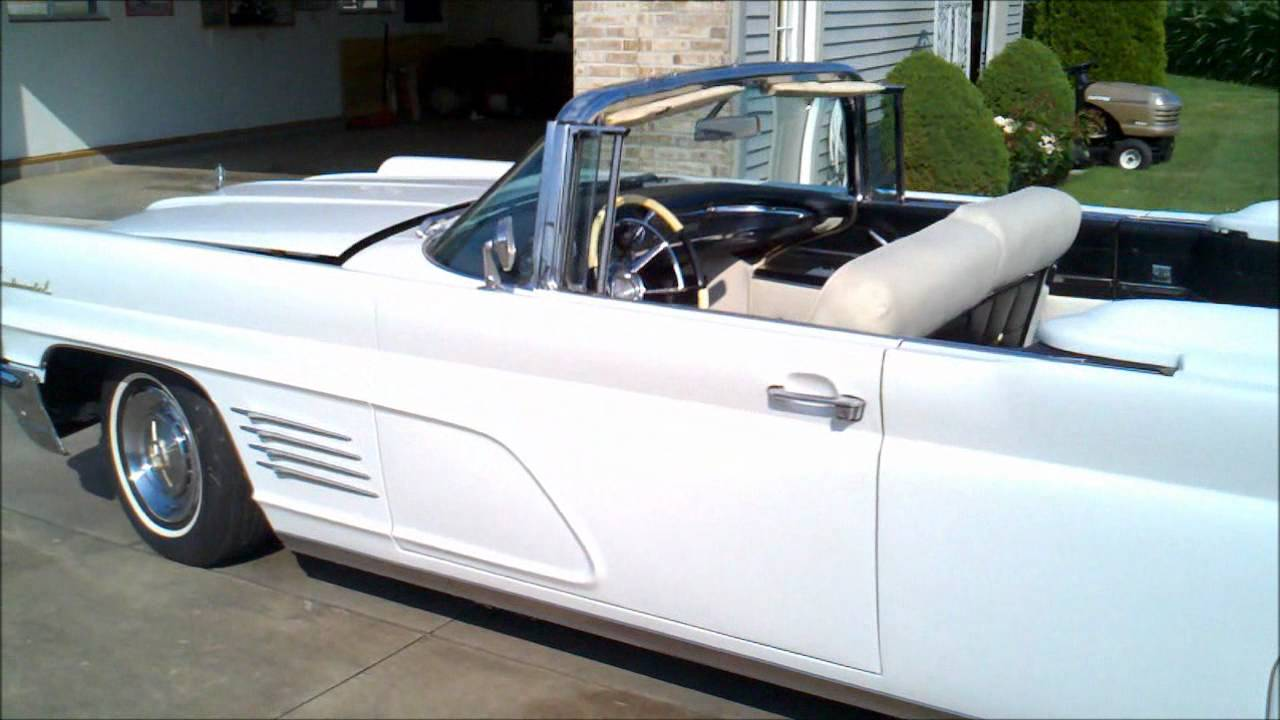 1960 lincoln continental convertible youtube. Black Bedroom Furniture Sets. Home Design Ideas