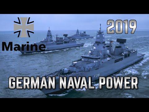 NAVAL POWER 2019- GERMAN NAVY FLEET/Marine von Deutschland