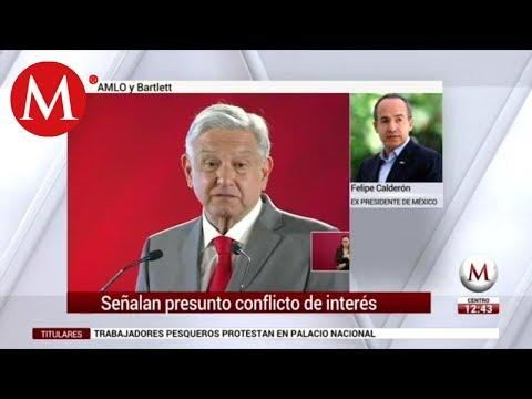 Entrevista a expresidente Felipe Calderón sobre empresas energéticas