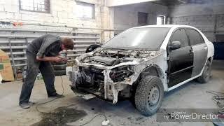 видео Кузовной ремонт Тойота, покраска Тойота
