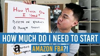 How Much MONEY Do You NEED To Start AMAZON FBA?!