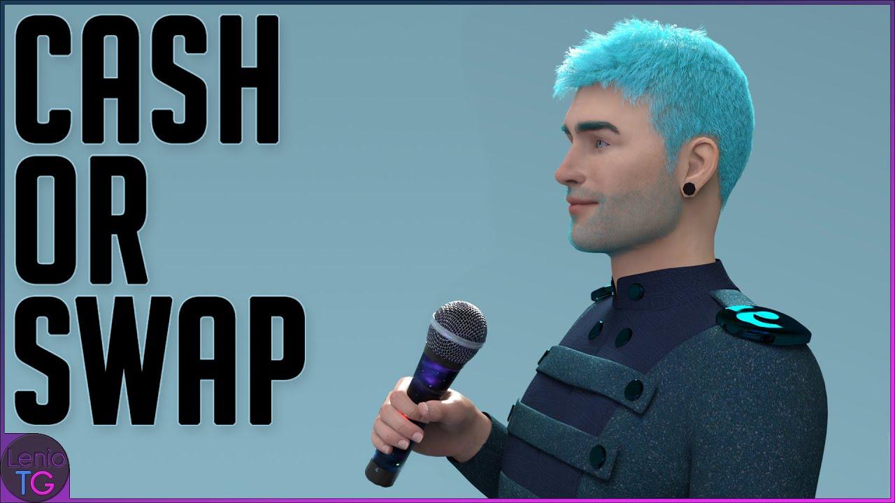Cash Or Swap – Gender Bender Transformation Comic by LenioTG