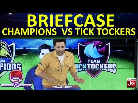 Briefcase   Game Show Aisay Chalay Ga League   TickTock Vs Champion