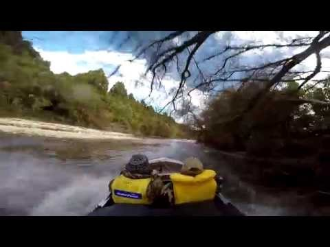 Small Jetboating the New river ,West coast, New Zealand