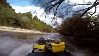 Jetboating The New River ,west Coast, New Zealand