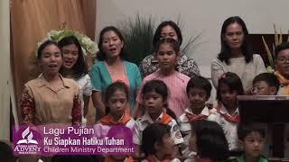 Hari Ketujuh Ku Siapkan Hatiku Tuhan - Children Ministry Department