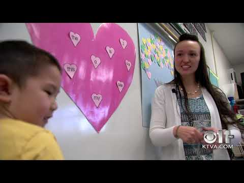 Teacher of the Week: Michelle Vaaia -  Government Hill Elementary