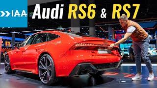 Audi RS7 или RS6 Avant 2020 // Франкфуртский автосалон