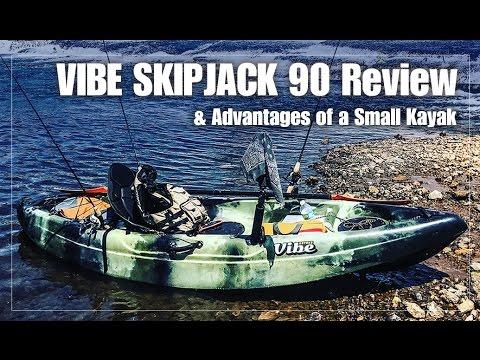 Vibe Kayaks Skipjack 90 Fishing Kayak Review