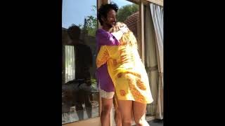 Saloni Chopra Teaches Yoga with Boyfriend Rahul | Cute Couple Goals