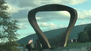 Hadany Arch, Williamsport PA, Optical Illusion